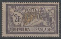 """FRANCE STAMP TIMBRE N° 122 """" TYPE MERSON 2F VIOLET ET JAUNE """" NEUF x TB  K987"""