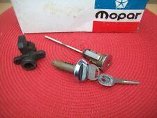 NOS MoPar 1970-72 Challenger Road Runner GTX Charger Trunk & Glove Box Lock Set