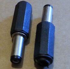 2.1mm x 5.5mm x 14mm DC en ligne Baril puissance SOUDABLE prise, CCTV