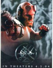 Hellboy The Movie Promo Card Pi