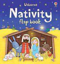 Nativity Flap Book (Usborne Flap Books) by Sam Taplin, NEW Book, (Board book) FR