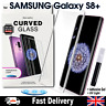 Samsung Galaxy S8+ UV Glue Nano Optics 3D Curved Tempered Glass Screen Protector