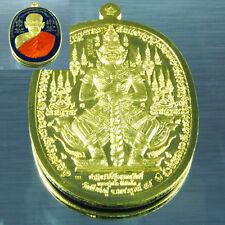 Thai Amulet Pendant Thao Wessuwan Giant LP Pring ThongRakang Blue Enamel BE2559