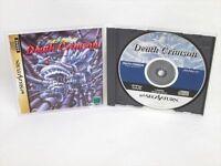 DEATH CRIMSON Sega Saturn ss
