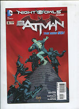 New 52 Batman #8 Night Owls Story ( 9.2) 2012