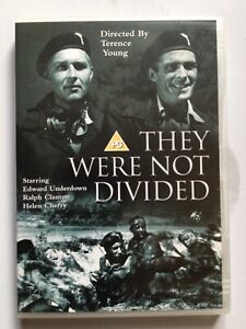 THEY WERE NOT DIVIDED DVD,1950,REG 2,VGC