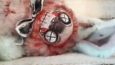Gothic Horror Wierd Ooak Scary Dead Bunny Rabbit Display Only, Plushie, Zombie