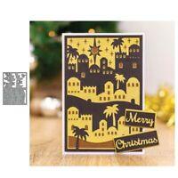 Stanzschablone Geburt Jesus Hochzeit Weihnachts Oster Geburtstag Karte Album DIY
