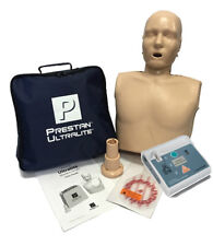 Prestan Ultralite CPR Training Manikin + AED Practi-Trainer Essentials PP-ULM