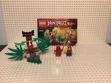 Lego Ninjago 70752 Jungle Trap 100% Complete + Instructions