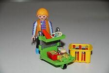 Playmobil market super hiper carrito señor compras
