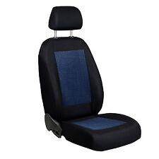 Schwarz-blaue Sitzbezüge für VOLKSWAGEN GOLF Autositzbezug NUR FAHRERSITZ
