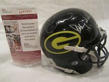 Brown, Williams, & Harris Autographed Grambling Mini Helmet - JSA Cert