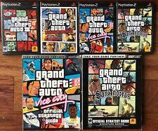 Grand Theft Auto Gta Ps2 Bundle with Strategy Guides