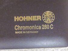 Hohner Chromonica 280C - great shape in plastic case, Germany
