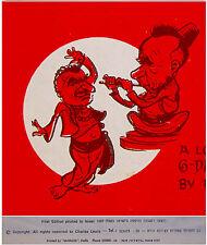 1967 Israel JEWISH CARICATURE BOOK Hebrew 6 DAYS WAR Nasser KOSSIGIN Arab SOVIET