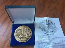 "Vtg Medal emblem medallion Germany American Airlines AA 254.3 grams no scrap 3"""