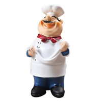 Kitchen Chef Statue Chef Figurine Kitchen Decor Table Centerpiece Noodles
