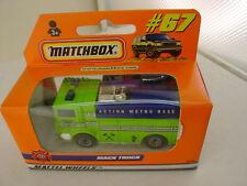 1998 MATCHBOX SUPERFAST #67 MACK TRUCK ACTION METRO BASE NEW IN BOX