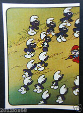 figurines cromos los pitufos cards figurine i puffi 48 panini 1982 the smurfs cd