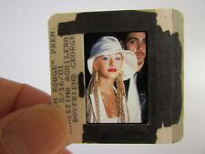 More details for original press photo slide negative - christina aguilera - 2001 - r