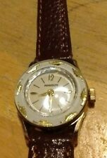 Vintage 1950's Manson Ladies Watch, running wind up with new leather C