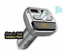 SANSAI Bluetooth Car Kit FM Transmitter Aux Mp3 + 2 Cable iphone Samsung C Type