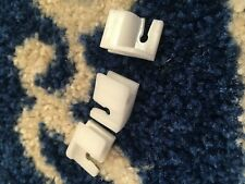 FORD ESCORT MK3 MK4 TURBO XR RS BRAKE PIPE CLIPS NOS GENUINE FORD X 3