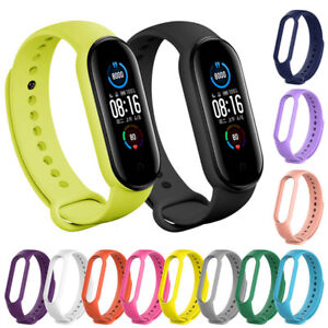 Fits for Xiaomi Mi Band 5 or 6 Bracelet Watch Band Wrist Band Strap Replacement