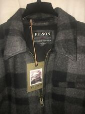 NEW WITH TAGS FILSON MADE IN USA MACKINAW WOOL JACKET XL $395
