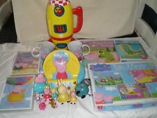 Paquete PEPPA PIG juguetes, etc. OF