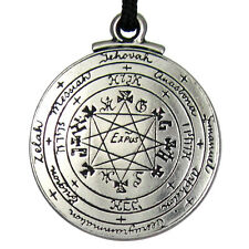 Pentacle of Solomon Talisman Pendant Seal Amulet Hermetic kabbalah Jewelry magic