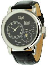 TRIAS Uhren Automatikuhr Modell Onyx Herrenuhr Datum + Wochentag