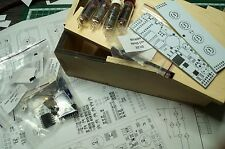 Nixie tube clock kit 2.1 with IN-16 Tubes in wood box  with DIY alder wood case