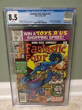 Fantastic Four King-Size #15 (1980) Captain Marvel, Dr. Doom / CGC 8.5 MARVEL !!