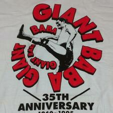Giant Baba Autographed Debut 35Th Anniversary T-Shirt