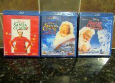 Disney The Santa Clause Trilogy 1,2, & 3 (Blu-ray Discs) NEW/SEALED   FREE SHIP