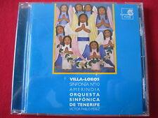 VILLA-LOBOS SINFONIA 10 - ORQUESTA SINFONICA DE TENERIFE - HARMONIA (CD FRANCE)