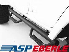 Seitenbügelset Nerf STEPS NERO 4-porte Jeep Wrangler JK 07-16