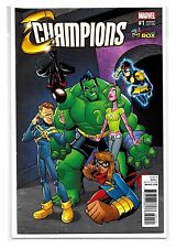 CHAMPIONS #1 - Wizard Comic Con Box Exclusive Variant - Marvel Comics!