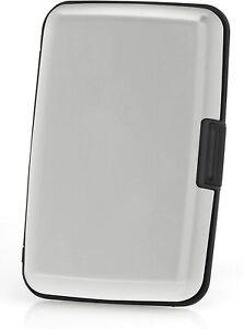 Aluma Wallet RFID Blocking Accordion Aluminum Wallet Silver