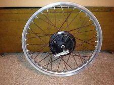 "1978 Suzuki RM250 Front Wheel  RM 250  AHRMA  Aluminum 21"" Rim  Hub Brake Plate"