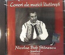Sealed CD- NICOLAE BOB STANESCU Cymbalom- Red Collection, Romanian Folklore