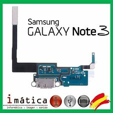 FLEX CARGA PARA SAMSUNG GALAXY NOTE 3 N9000 N9005 MICRO USB  MICROFONO CONECTOR