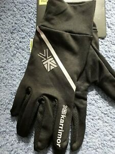 Karrimor Running Gloves Mens Womens  Black Size XS/S - brand new with tags