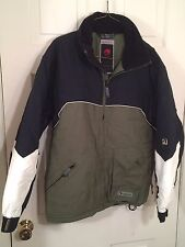 Ripzone Mens Blue & Green Full Zip & Zip Pocket Jacket Size Small #MJ-74