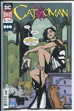 CATWOMAN #1 - JOELLE JONES STORY, ART & MAIN COVER - DC COMICS/2018