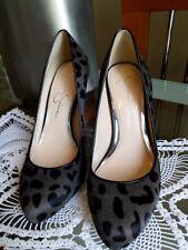 Jessica Simpson Marya Women's Shoes Size 6 Leopard Black Grey Pumps