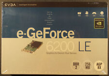 GeForce 6200LE 256MB AGP 8X DDR2 Graphics Card- 256-A8-N295-LX, NEW !!!