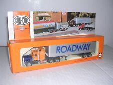 "CON-COR #1005  Kenworth 10 Wheel Cab w/40' Box Trailor ""Roadway"" Built-up H.O."